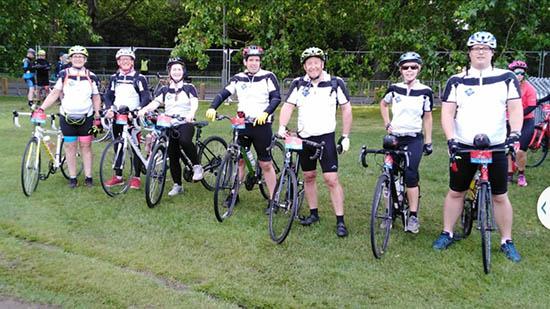 Charity Bike Ride Fundraising