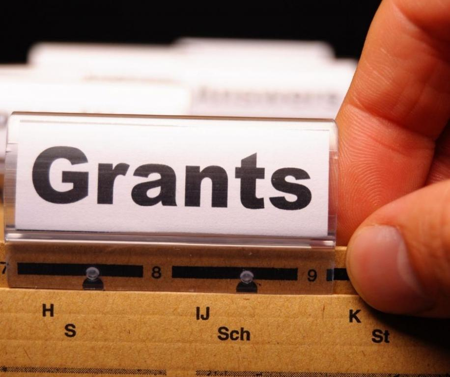 Image of File with 'grants' label