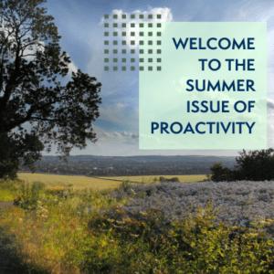 ProActivity Summer 2021 Welcome