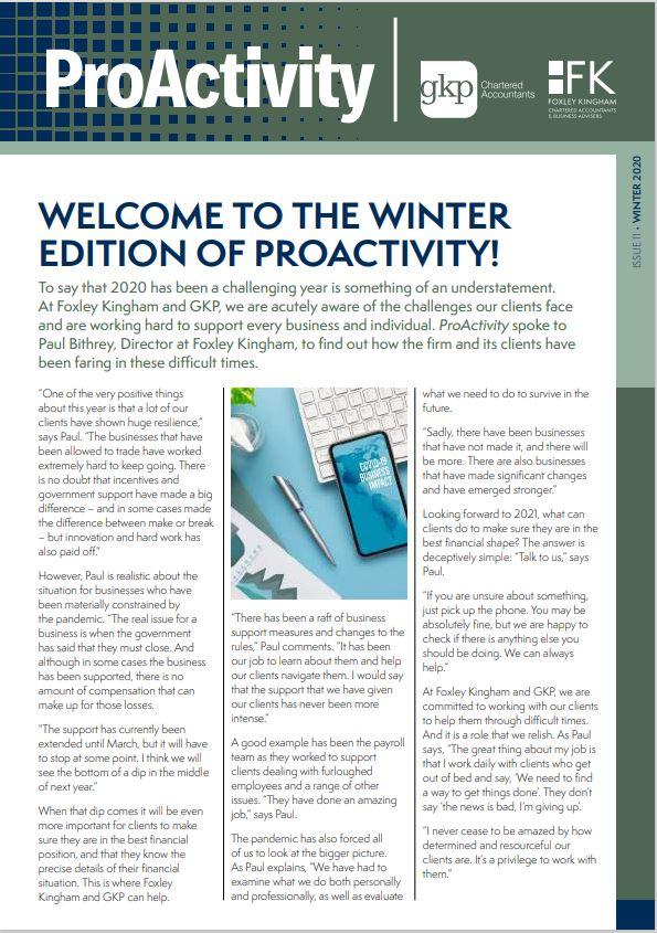 proactivity winter 2020