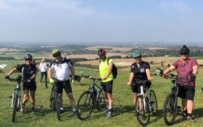Well Done Cycle Challenge Team
