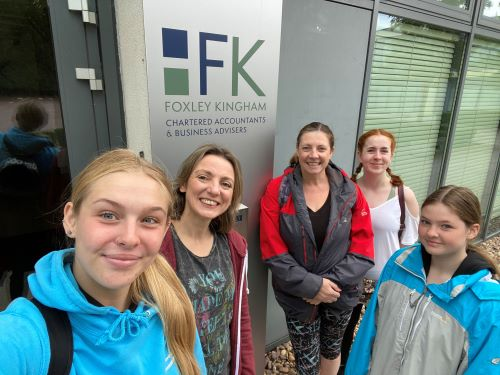 Well Done Walking Challenge Team